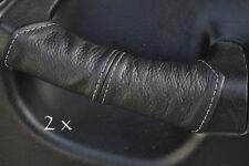 Fits honda crx del sol 2x porte Handel couvre gris Stitch