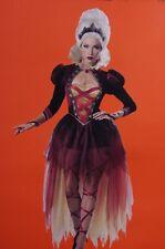 Womens Queen of Diamonds Halloween Costume Medieval Renaissance Faire Sm M L NEW