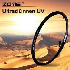 Zomei 55/58/62/72/77/82mm UV Filte Slim Frame Lens Filter Camera Protector
