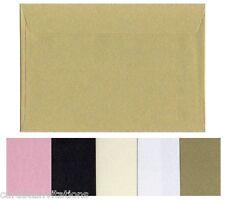 C5 Envelopes (20) Quality 120gsm Metallic Large A5 Colour Variations 230 x162 mm