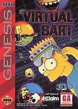 Virtual Bart (Sega Genesis, 1994)