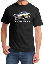 1970 1971 Ford Torino Fastback Full Color Cartoon Tshirt NEW FREE SHIPPING