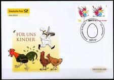 BRD 2005: Kinder! Post-FDC der Nr. 2486 mit Berliner Ersttagsstempel! 1A 1602