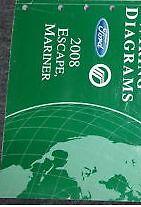2008 FORD Escape & Mercury Mariner Electrical Wiring Diagram Manual EWD OEM 2008