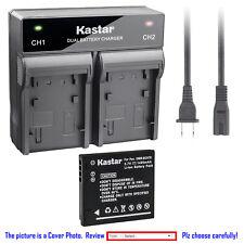 Kastar Battery Rapid Charger for Panasonic DMW-BCK7E & Panasonic Lumix DMC-FX78