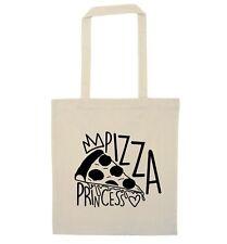 Pizza Princess tote bag Italian takeaway pepperoni margarita food joke gift 4467