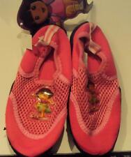 Nickelodeon Dora the Explorer Pink Water Swim Shoes Size 5/6 7/8 9/10