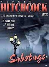 Sabotage (DVD, 2000) ALFRED HITCHCOCK Oscar Homolka NM COND * i combine shipping