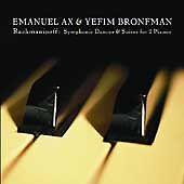 RACHMANINOFF SYMPHONIE DANCES & SUITES FOR 2 PIANOS EMANUEL AX YEFIM BRONFMAN CD
