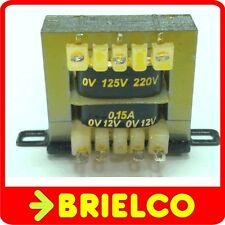 TRANSFORMADOR ALIMENTACION 220VAC A 12V+12V 0.15A 24V 0.1A CHASIS ABIERTO BD8317