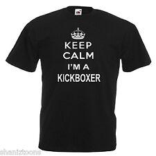 Keep Calm Kickboxer Children's Kids T Shirt