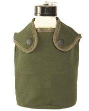 franz. Feldflasche Alu 1,3ltr m.Be.u.Hü., Outdoor, Camping, Military  -NEU-