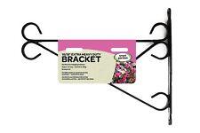 """Heavy Duty Black Wall Mounted Hanging Basket Bracket 12"""" 14"""" 16"""" 18"""""""