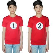 NEW Kids considerando che Wally a Righe Manica Corta T-shirt per bambini Prenotare Top