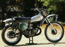 1973 HONDA CR250M ELSINORE PHOTO VINTAGE AHRMA