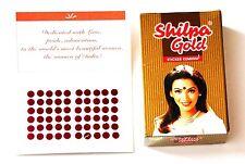 Bindi TatooTraditional Shilpa Gold Sticker KumKum Bindi - Size DR-6 - USA Seller