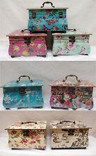 Schmuckkasten Schmuckschatulle Schatulle Truhe vintage eckig Box Schatztruhe