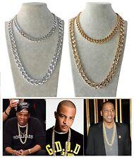 Rapper leggera Collana catena UOMO o donna Oro ,Argento in Alluminio