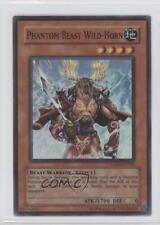 2006 Yu-Gi-Oh! GX: Tag Force #GX02-EN002 Phantom Beast Wild-Horn YuGiOh Card