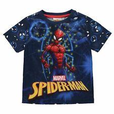 enfants garçons bleu Marvel Comics Spider-Man T-shirt T-shirt