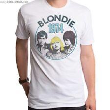 Blondie T-Shirt / Blondie Band Poster, Blondie 1974 Tour,Retro New,Men's Tee