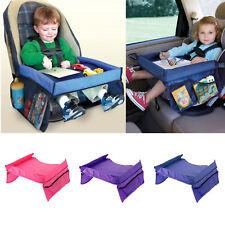Waterproof Baby Kids Snack Play Tray Car Seat Plane Toddler Portable Travel UK