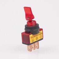 1x ou 2x 12 V Court lumineux Interrupteur à bascule rouge idéal Feu De Brouillard Voiture Vélo Van