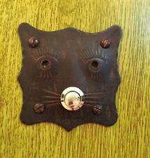 Individuelle Türklingel Katze - antik-rusted Klingel Haustür Schelle Türschelle