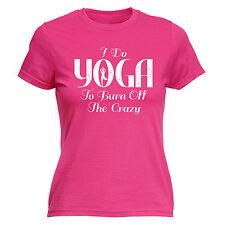 Hago yoga para grabar el Loco Para Mujer T-shirt regalo de cumpleaños de moda de Correr Runner