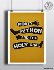 Monty Python e il Sacro Graal minimalista movie poster film minimo posteritty