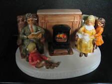 Sebastian Miniatures America Remembers Family Reads Aloud Mib