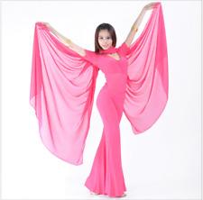 New Chiffon Shawl Veil Scarf multi-use 8 color 250x120cm Belly Dance Costumes