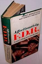 Affectionately F.D.R. - James Roosevelt 1959 FIRST ED.