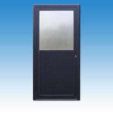 Nebeneingangstür anthrazit AK-12A Eingangstür Kellertüren Haustür Kunststoff neu