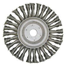 spazzola rotonda 115,125,178 x 22,23 0,5 filo di acciaio ANNODATE,in fil ferro