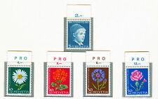 SWITZERLAND - 1963 Pro Juventute complete set of 5 stam