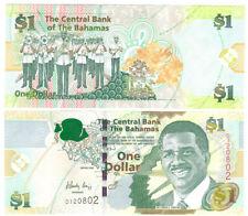 Bahamas  1 Dollar 2008  kassenfrisch  Pick 71