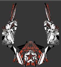 Polaris 900 xp RZR Grunge Design Decal Graphic Kit Wraps 2 Door 2011-2014