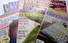 Handwoven Magazine Back Issues - Weaving Patterns. Handweave