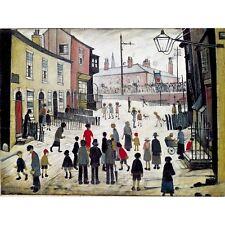 A Procession - L S Lowry Print