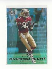 1999 Black Diamond Might #DM7 Jerry Rice 49ers
