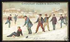 Chromo Guérin-Boutron: Jeux d'hivers - Glissade