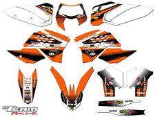 2008-2011 KTM EXC XCF 125 250 300 450 530 GRAPHICS SET KIT DECO DECALS 2009 2010