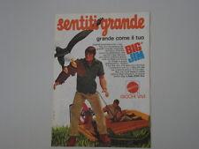 advertising Pubblicità 1974 BIG JIM MATTEL