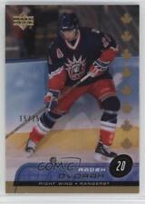 2002 Upper Deck Canada Exclusives #117 Radek Dvorak New York Rangers Hockey Card