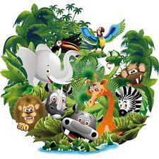 Autocollant Stickers muraux enfant jungle
