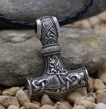 Thor's Hammer Viking Norse COLLANA MARTELLO DI THOR MJOLNIR Scegli tra 2 modelli