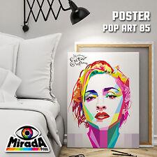 POSTER POP ART MADONNA ART Andy Warhol CARTA FOTOGRAFICA 35x50 50x70 70x100