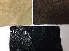SNAKE SKIN FABRIC Leatherette Clothing Fashion Soft Furnishings Upholstery 150CM