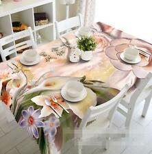 3D Calla Lily 7Tablecloth Table Cover Cloth Birthday Party Event AJ WALLPAPER CA